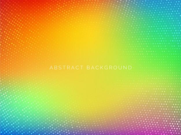 Abstrait, dégradé multicolore coloré.