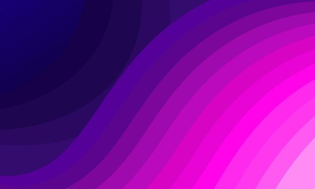 Abstrait dégradé rose et violet ondulé. illustration vectorielle.