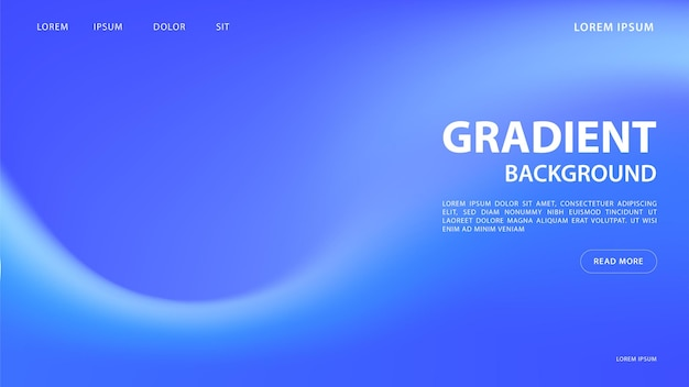 Abstrait dégradé vibrant dans les tons bleus. pour la conception graphique colorée, modèle de conception de mise en page pour la brochure.