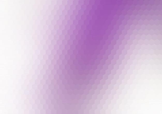 Abstrait avec design hexagonal