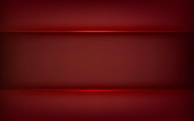 Abstrait design en rouge profond