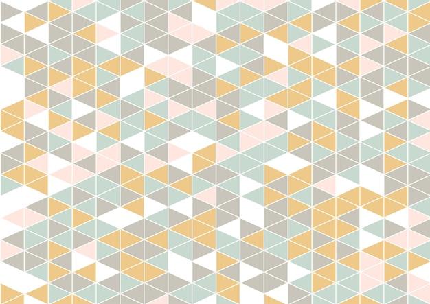Abstrait avec un design de style scandinave low poly