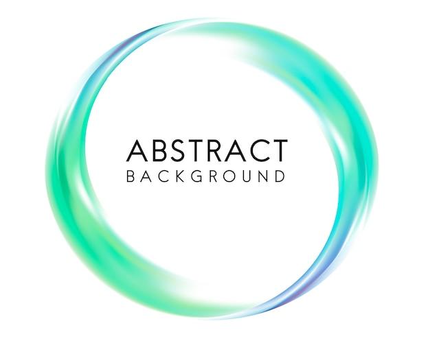 Abstrait design en vert