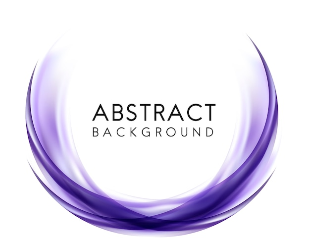 Abstrait design violet