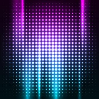Abstrait discothèque coloré