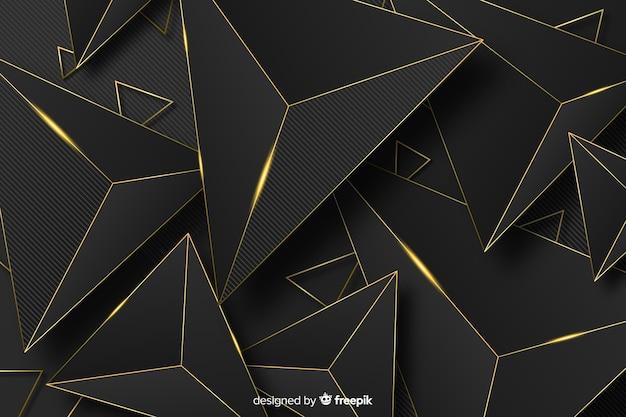 Abstrait doré