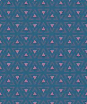 Abstrait du modèle triangulaire sans soudure.