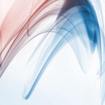 Abstrait dynamique, illustration futuriste ondulée