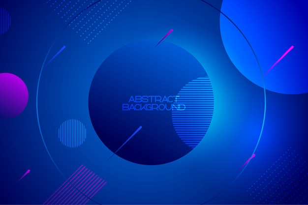 Abstrait dynamique