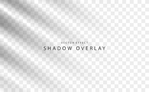 Abstrait avec effet de superposition d'ombres transparentes claires