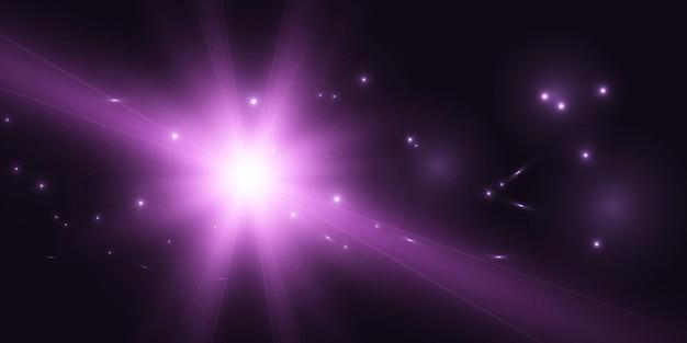 Abstrait avec des effets de lumière vive pour illustration vectorielle