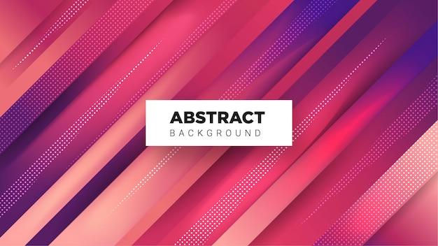 Abstrait élégant avec une combinaison de couleurs dégradée