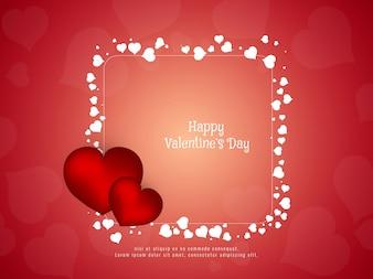 Abstrait élégant de la Saint-Valentin