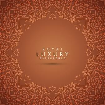 Abstrait élégant luxe fond marron