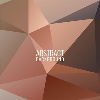Abstrait élégant polygonale