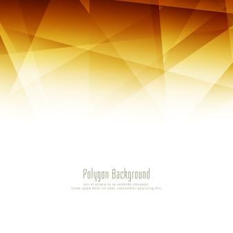Abstrait élégant polygone lumineux