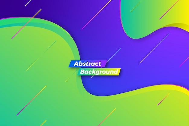 Abstrait élégant vague moderne
