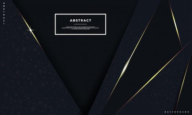 Abstrait et élément de conception géométrique.