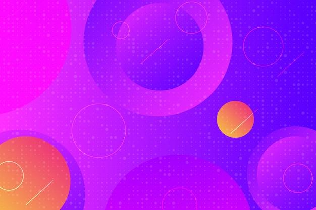 Abstrait élément géométrique moderne de couleur pourpre