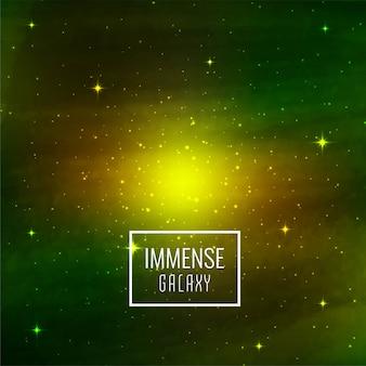 Abstrait espace galaxie