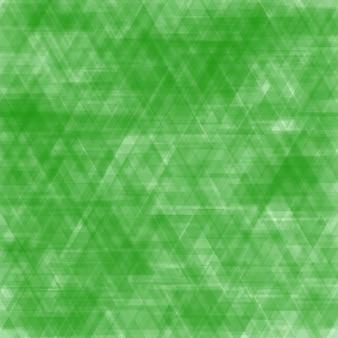 Abstrait fait de divers triangles verts