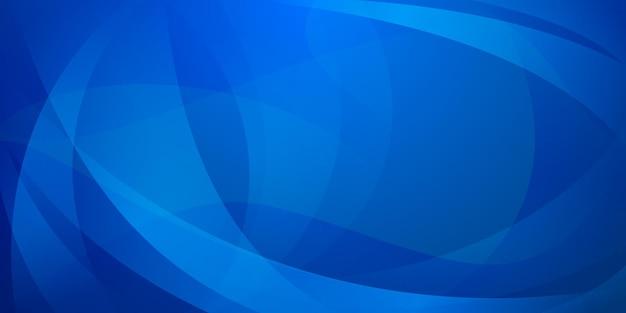 Abstrait fait de lignes courbes dans des couleurs bleu clair