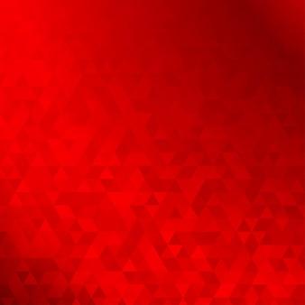 Abstrait fait de petits triangles rouges