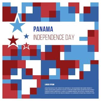 Abstrait de la fête de l'indépendance du panama