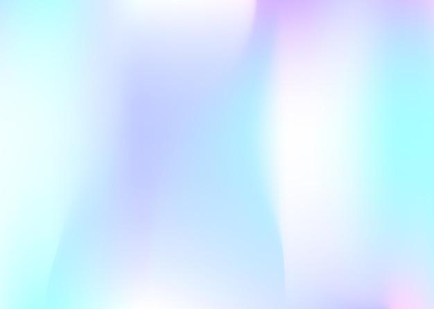 Abstrait de filet de dégradé. toile de fond holographique minimale avec filet de dégradé. style rétro des années 90 et 80. modèle graphique nacré pour pancarte, présentation, bannière, brochure.