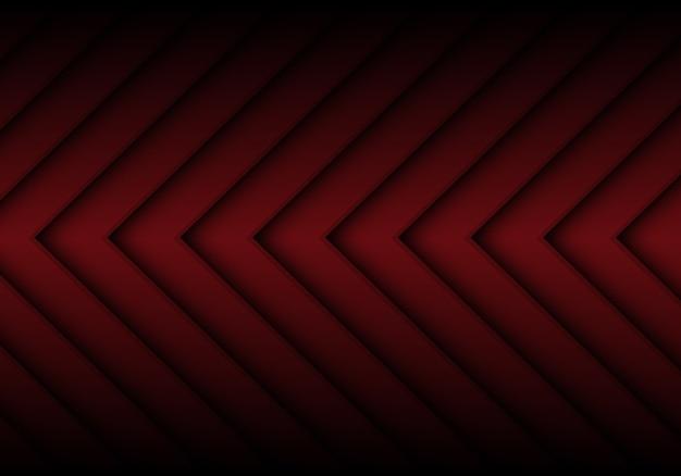 Abstrait de flèche rouge foncé.