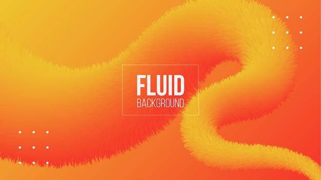Abstrait fluide fluide 3d fond dégradé