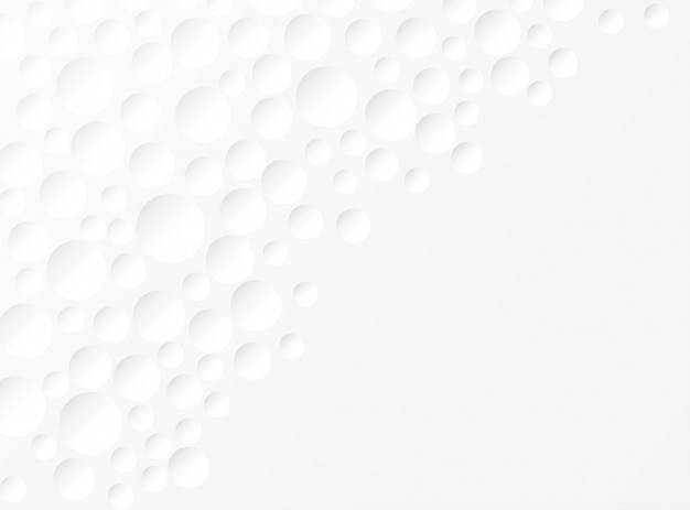 Abstrait. fond de cercle blanc en relief. lumière et ombre. fond
