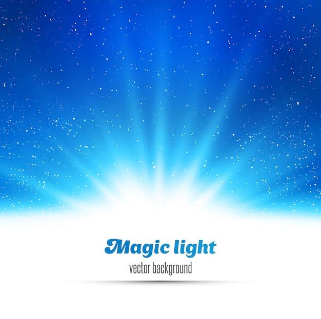 Abstrait fond clair magique