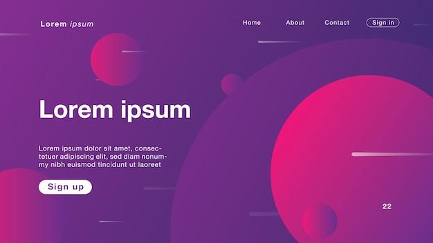 Abstrait fond de couleur violet lac pour page d'accueil