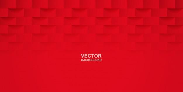 Abstrait. fond géométrique carré rouge.