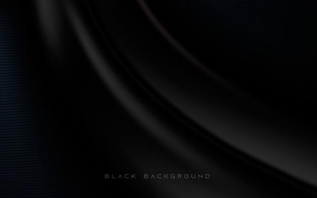 Abstrait fond noir moderne brillant