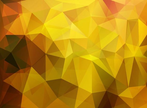 Abstrait fond polygonal