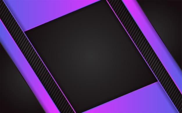 Abstrait fond sombre avec effet coloré