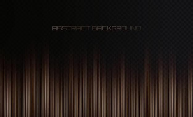 Abstrait de fond de technologie de vitesse de lignes verticales dorées