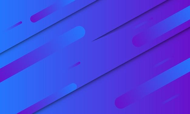 Abstrait de forme dégradé bleu et violet. meilleur design intelligent pour votre entreprise.