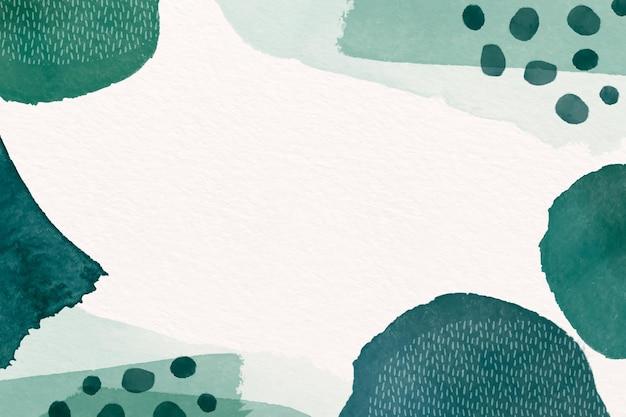 Abstrait avec des formes aquarelles et un espace vide