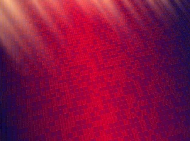 Abstrait avec des formes de carreaux géométriques.