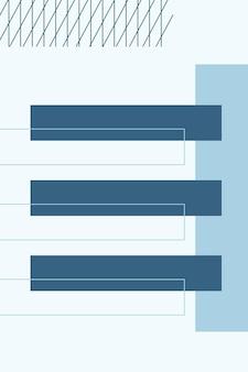 Abstrait, formes colorées, charbon de bois, illustration vectorielle de fond d'écran dégradé bleu bébé.
