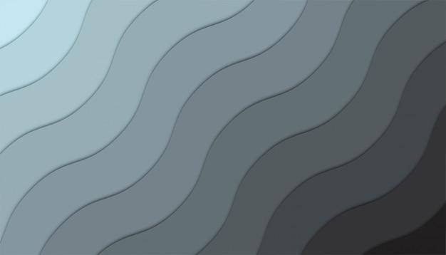 Abstrait avec des formes découpées en papier.