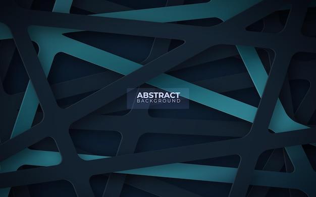 Abstrait avec des formes géométriques