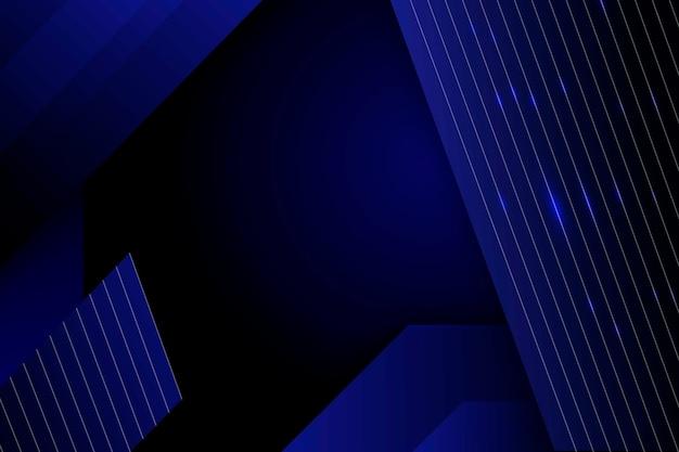 Abstrait de formes polygonales avec des lignes