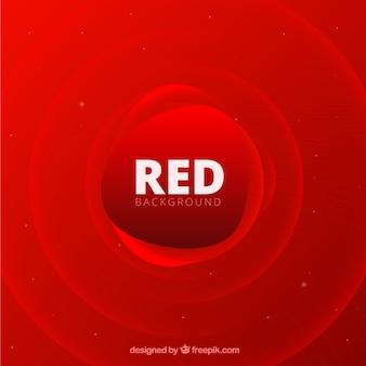 Abstrait avec des formes rouges