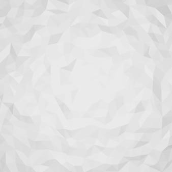 Abstrait avec des formes de triangles 3d blancs