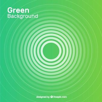 Abstrait avec des formes vertes
