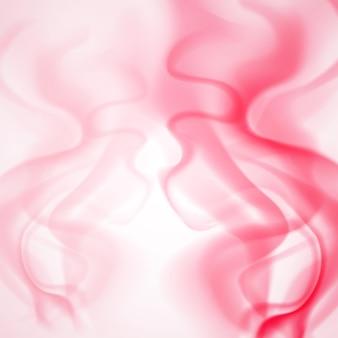 Abstrait de fumée colorée dans des couleurs rouges